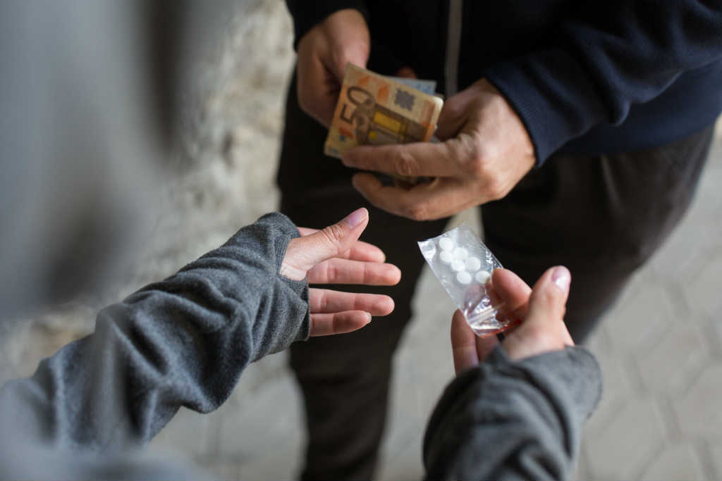 illegal drug trafficking